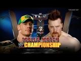John Cena vs. Sheamus - WWE Championship Tables Match - WWE TLC 2009