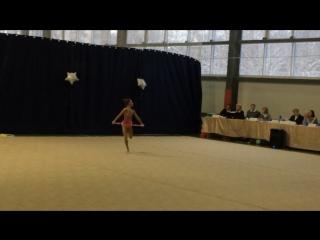 Анжелика обруч Олимпийские резервы шк. Алексеева
