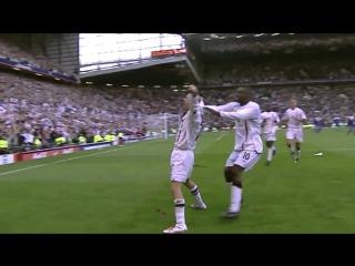 Гол Бекхэма в ворота сборной Греции.