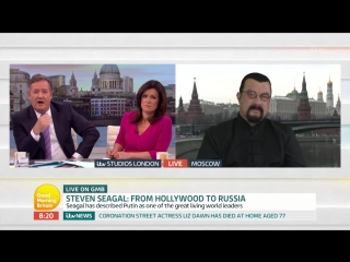Steven Seagal Calls NFL Protests Disgusting _ Good Morning Britain