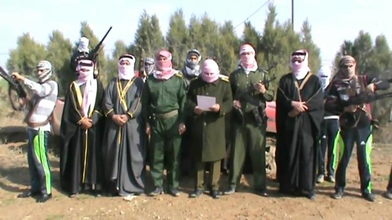 Заявление о формировании Военного совета революционеров племён (сувар аль-ашаир) Хауд Хамрин 17.01.2014