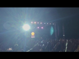 Баста дает концерт в Ставрополе