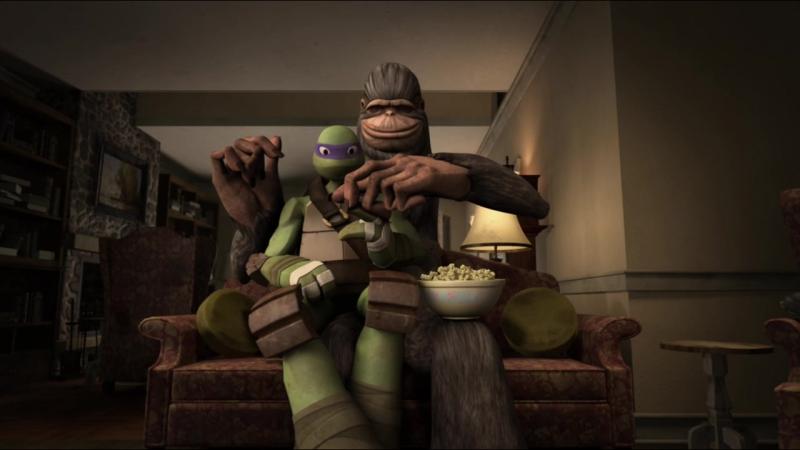 Черепашки ниндзя 3 сезон 2 серия Большая Нога