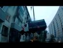 #Видео_дня житель Бийска поднял «Газель» на 4-й этаж ради любимой. (Будни, 13.09.17г., Бийское телевидение)
