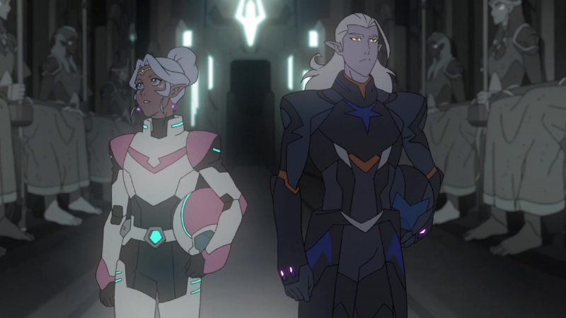 "Voltron Season 5 ""Your Touch"" Lotor X Allura Lotura"