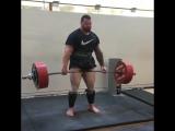 Алекс Симон - тяга 350 кг