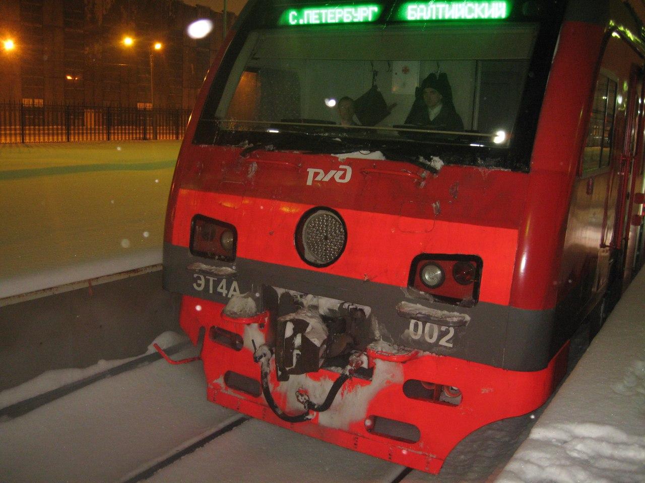 Электричка ЭТ4А - лучший электропоезд России. Счастье, которого больше не будет