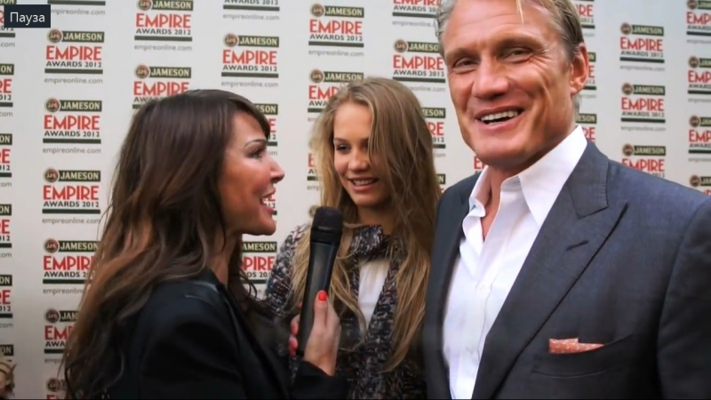 Dolph Lundgren Hollywood A-Listers at The Jameson Empire Film Awards 2012
