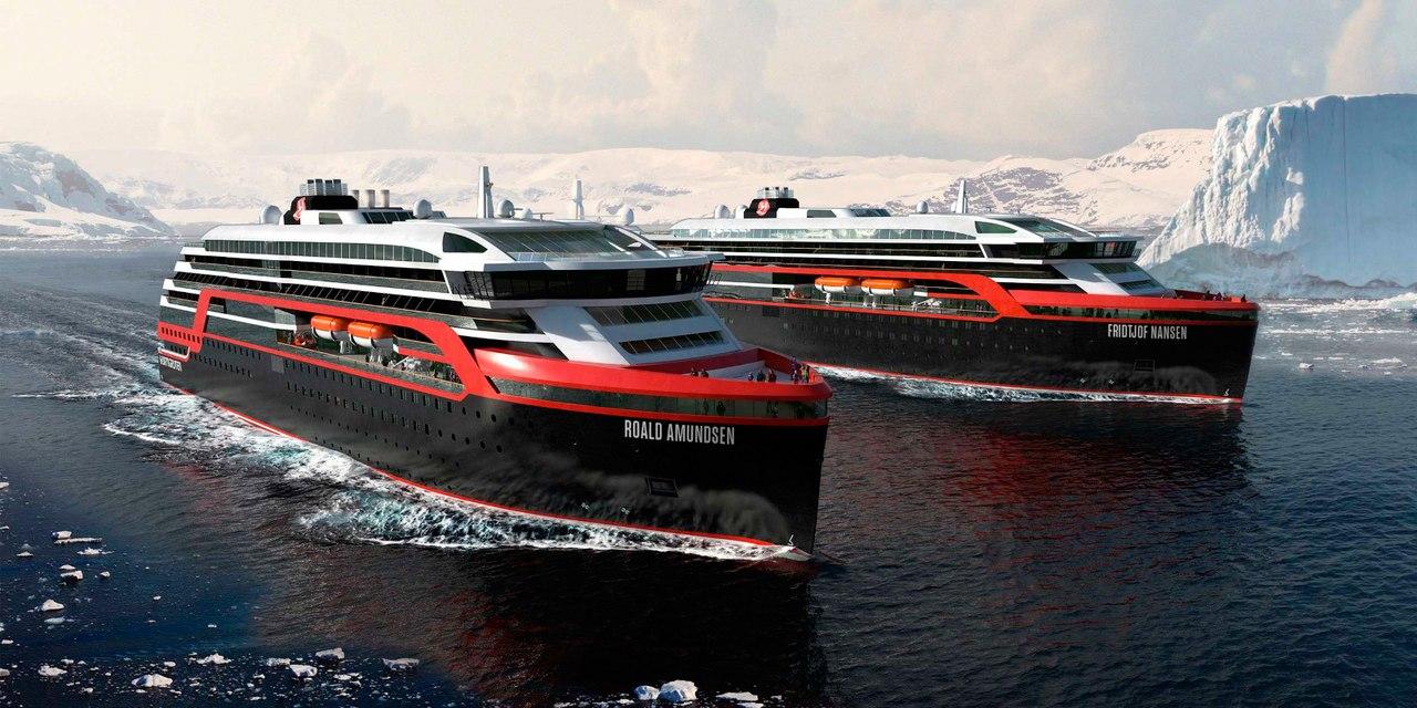 Флот норвежской круизной компании
