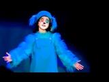 Шанталь Бунятова (9 лет) в роли Голубого щенка. Театр Геннадия Гладкова. Минск