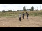 Окровавленный баран в Шушарах