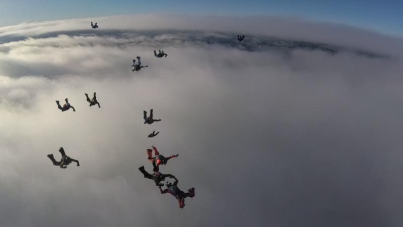 УТС 23-24.12.2017 сектор BG 2-я группа 1-й прыжок
