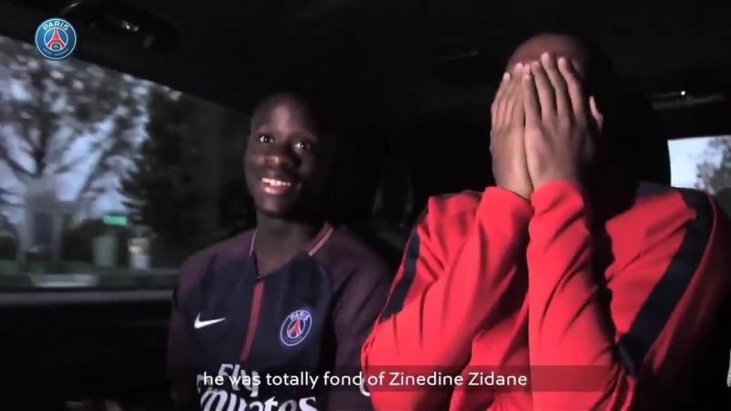 Mbappes friend about Zidane