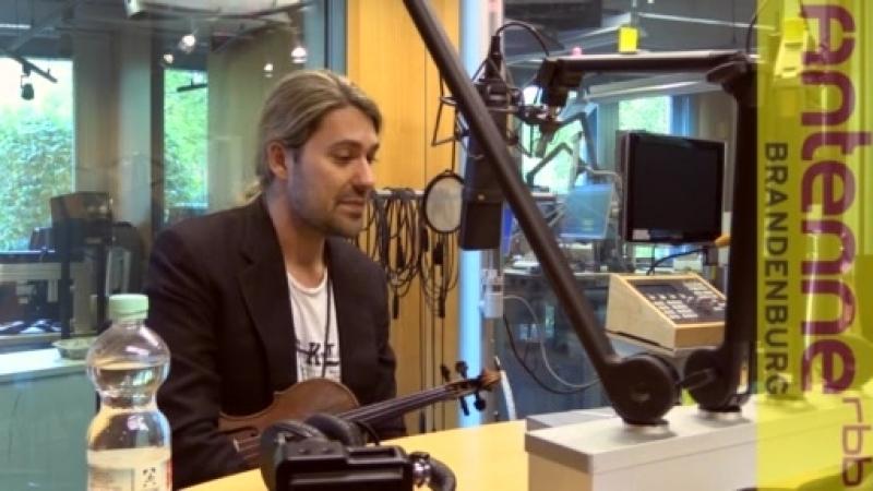 Интервью Дэвида Гарретта на Радио Brandenburg 29.10.2017