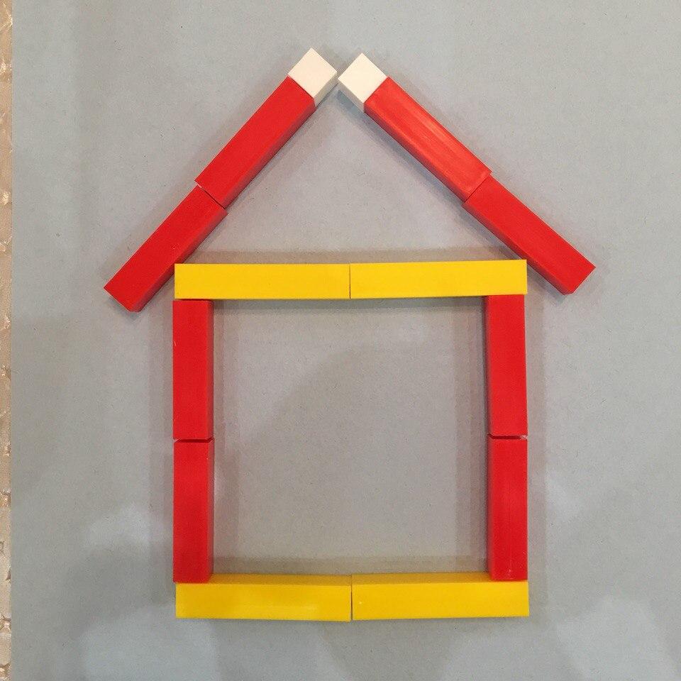 Увеличь домик в два раза