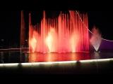 Сочи, олимпийский парк, поющие фонтаны.