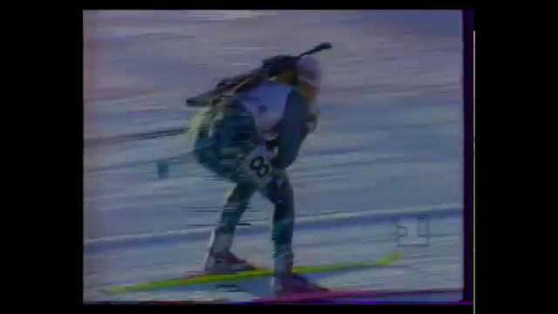 Биатлон-1994. Олимпийские Игры в Лиллехаммере. Индивидуальная гонка. Женщины