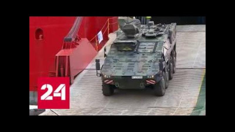 Достойный партнер: в Грузию прибывает военная техника НАТО