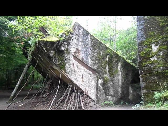Wolfsschanze- Wolf's Lair, Hitler's bunkers - волчье логово, Польша, Кентшин, Гёрлицкий лес, Восточная Пруссия