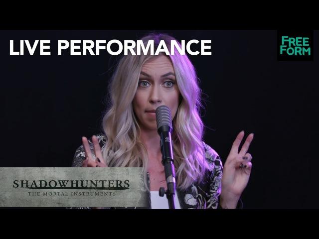 Shadowhunters | Season 2 Ruelle Live Performance War Of Hearts | Freeform