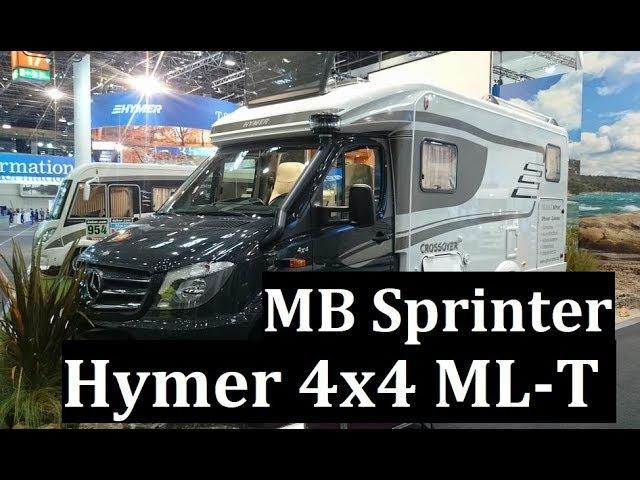 Дом на колесах 4x4 Hymer MLT на Mercedes-Benz Sprinter, скоро в России