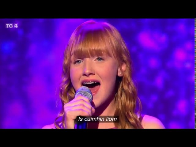 Junior Eurovision Eire 2017 - Hayley Keogh - Is Cuimhin Liom - LIVE Semi Final 1