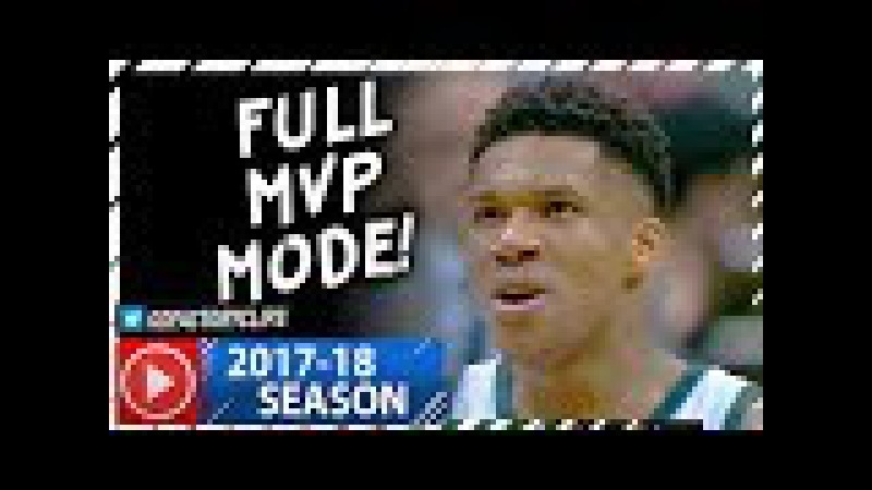Giannis Antetokounmpo INSANE Full Highlights vs Trail Blazers (2017.10.21) - 44 Pts, GAME-WINNER!