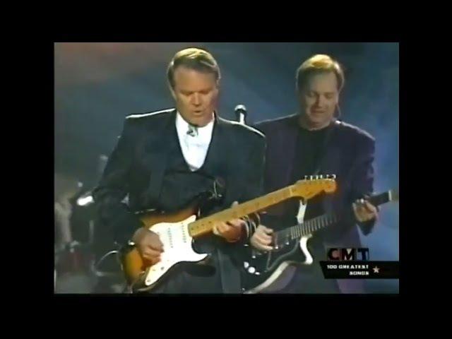 Glen Campbell's fantastic guitar solo on Galveston