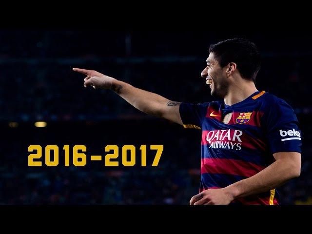 Luis Suárez 2016-17 ● Goals/Dribbling Skills Assists    HD