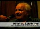 Ich fühle mich der Wahrheit verpflichtet - Im Gespräch mit Reinhold Leidenfrost