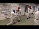 Тренировка по АРБ, спарринг по армейскому рукопашному бою.no use