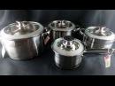 Набор посуды Kamille 4504s 8 предметов