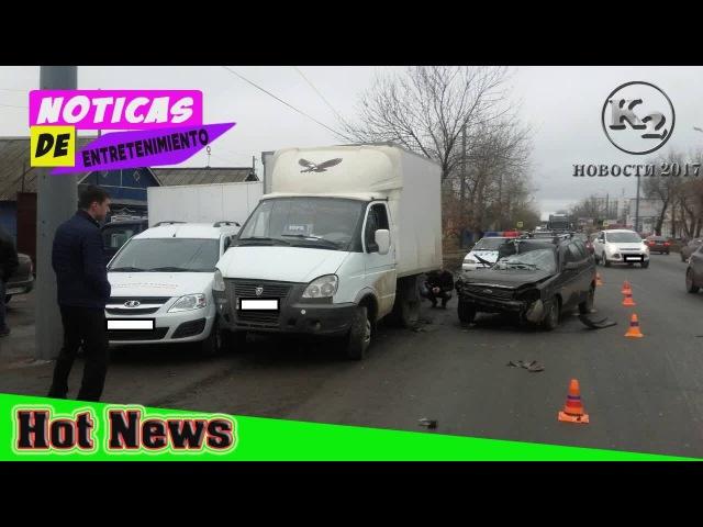 ДТП на Шевченко. В Оренбурге водитель «Приоры создал массовую аварию