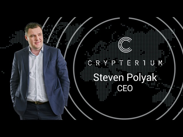 Interview with Steven Polyak CEO Co founder Crypterium @ Blockchain Forum 2017 Moscow