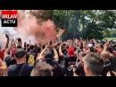 CURVA SUD AT MILANELLO - Milan fans chanting in front of Milanello | MilanActu [HD]