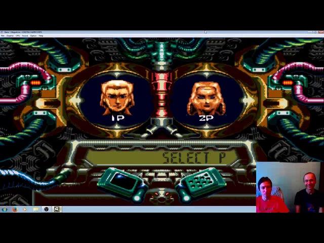 Contra Hard Corps (Sega Genesis - Прохождение вдвоём)