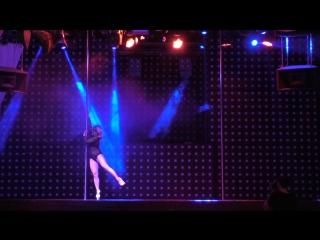 Шабурова Яна. Pole Dance Exotic professionals. Сибирские гонки по вертикали «4 Стихии»