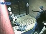 массовая драка в ночном клубе с охранниками на фейс контроле   A fight in a night club