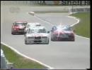 C. Baird BMW 318is vs G. Barbham BMW 318is vs J. Richards Volvo 850 GLT Super Touring Bathurst 1000 Support Race 1996