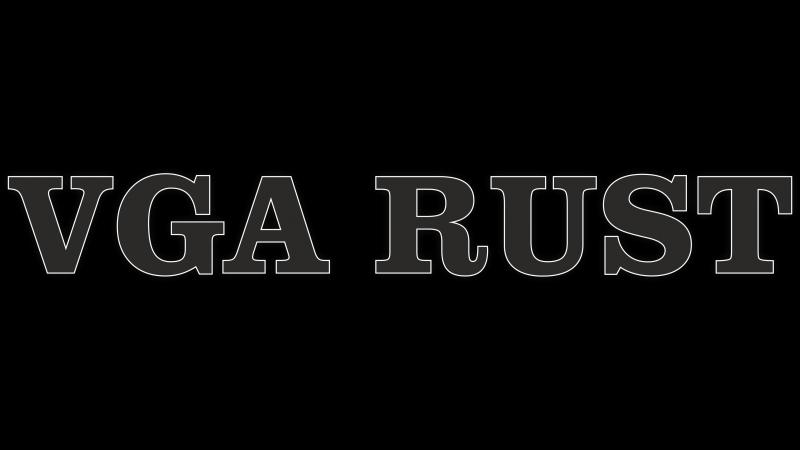 Вступительный ролик сервера VGA RUST. Выживаем вместе с Тедди
