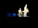 Репетиция в Учебном театре ЕГТИ. сцена Юли и Вовы и Амалии