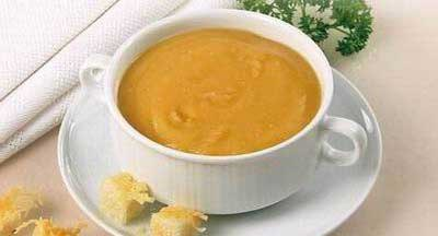 Суп-пюре гороховый с гренками  Продолжительность