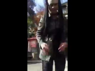 (Zinaa) [2017-10-04 ] 500 чел. раздеваюсь на улице ( про