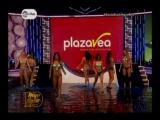Baile del trencito Gabriela Herrera junto a las demas chicas