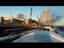 А вот и полноценное видео проезда паровозов VID 20180107 110815