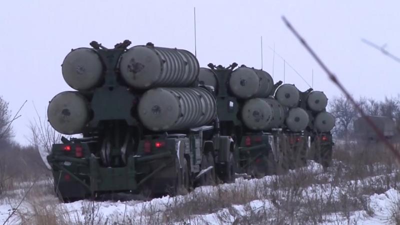 Тактическое учение с подразделением зенитных ракетных войск ЮВО
