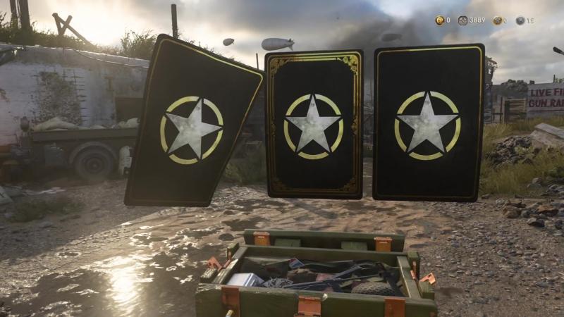 Call of Duty WWII открытие ящиков на 13000 cod points (1 серия)