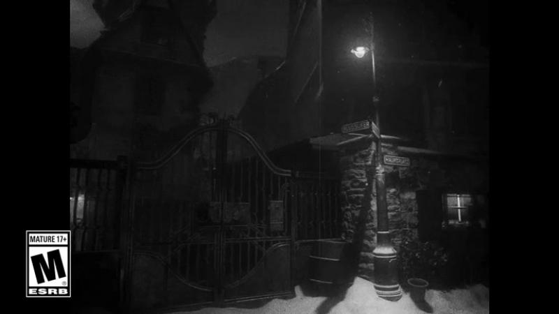 Сцена на премьеры зомби режима Call of Duty: WWII