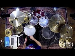 Sakae Almighty Birch drums & Masterwork cymbals (pure-mixed sound demo)