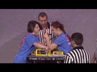 KYSHTYMOVA - VNENKOVSKAIA final, JUNIOR18 WOMEN LEFT PIU +50
